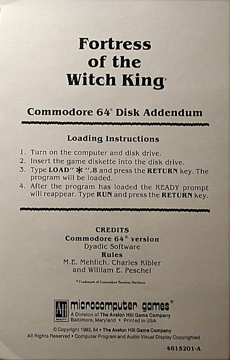 Computer Game Museum Display Case Fortress Of The Witch King