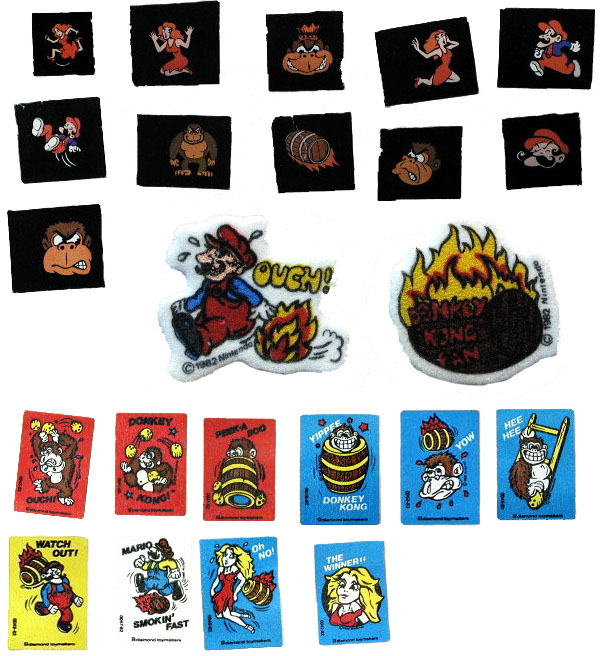 Computer Game Museum Collections Cards Stickers and