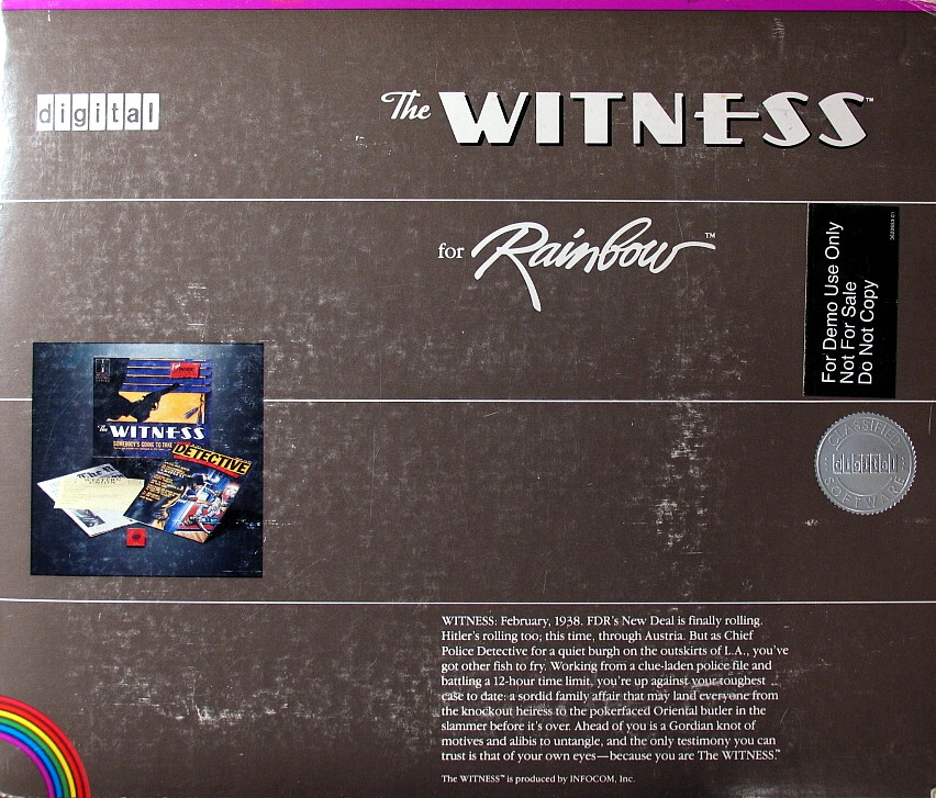 Computer Game Museum Display Case Witness