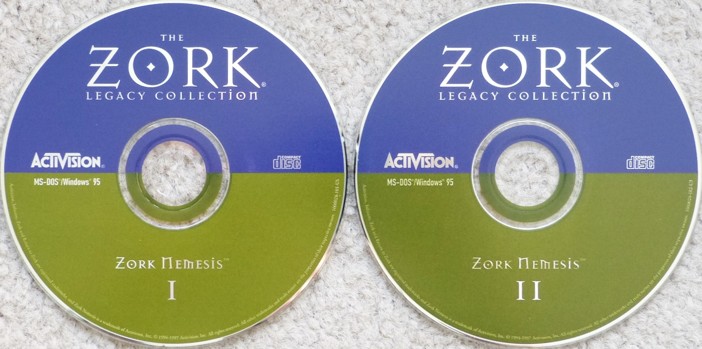 Computer Game Museum Display Case Zork Legacy Collection