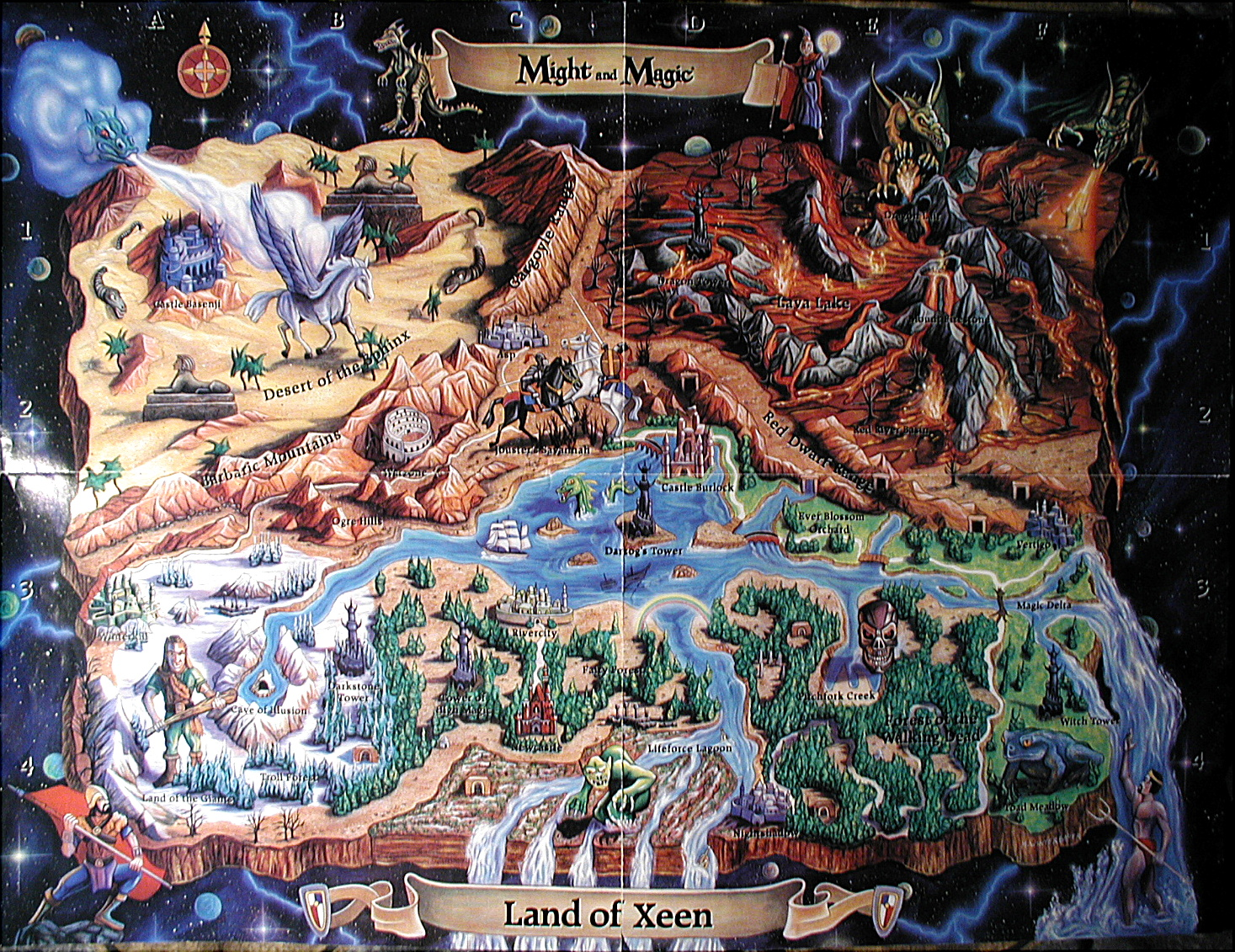 Might And Magic X World Map.Might And Magic Might Magic X Pre Release Thread Page 28 Rpg