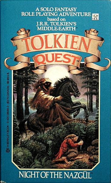 Computer Game Museum Display Case Tolkien Quest 1