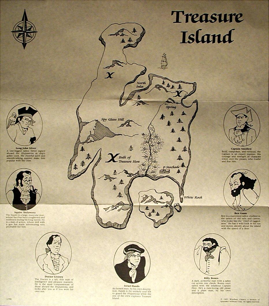 Book It Treasure Island