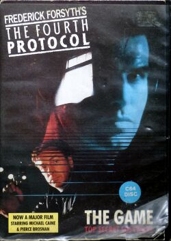 Fourth Protocol, The (Ariolasoft) (C64) (missing manual?)