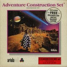 Adventure Construction Set (Alternate Packaging) (Ariolasoft) (C64)