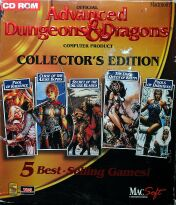 Advanced Dungeons and Dragons Collectors Edition (MacSoft) (Macintosh)