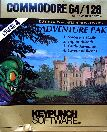 Adventure Pak: Sorcerer's Castle, Trip to Atlantis, Castle Adventure, Cavern of Riches (Boxed) (Keypunch Software) (C64)