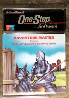 Adventure Master (Medieval Adventure/Stoneville Manor) (One-Step Software) (C64)