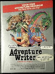 Adventure Writer (CodeWriter) (Apple II)