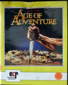 Age of Adventure (ECP) (C64) (missing manual, reference card)