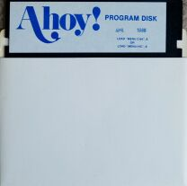 Ahoy! April 1986 (#28) (disk only) (C64)