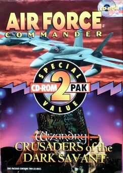 Air Force Commander & Wizardry VII: Crusaders of the Dark Savant