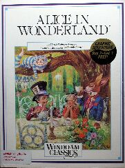 Alice in Wonderland (Apple II) (Contains Promotional Button)