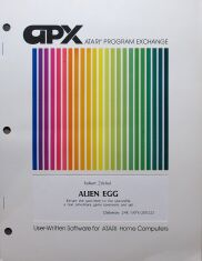 Alien Egg (Atari Program Exchange) (Atari 400/800)