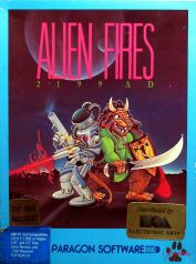 Alien Fires: 2199 A.D. (Paragon) (IBM PC)