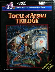 Temple of Apshai Trilogy (Rush Ware) (C64/Atari 400/800)
