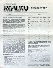 Alternate Reality Newsletter Volume 1 Issue 4