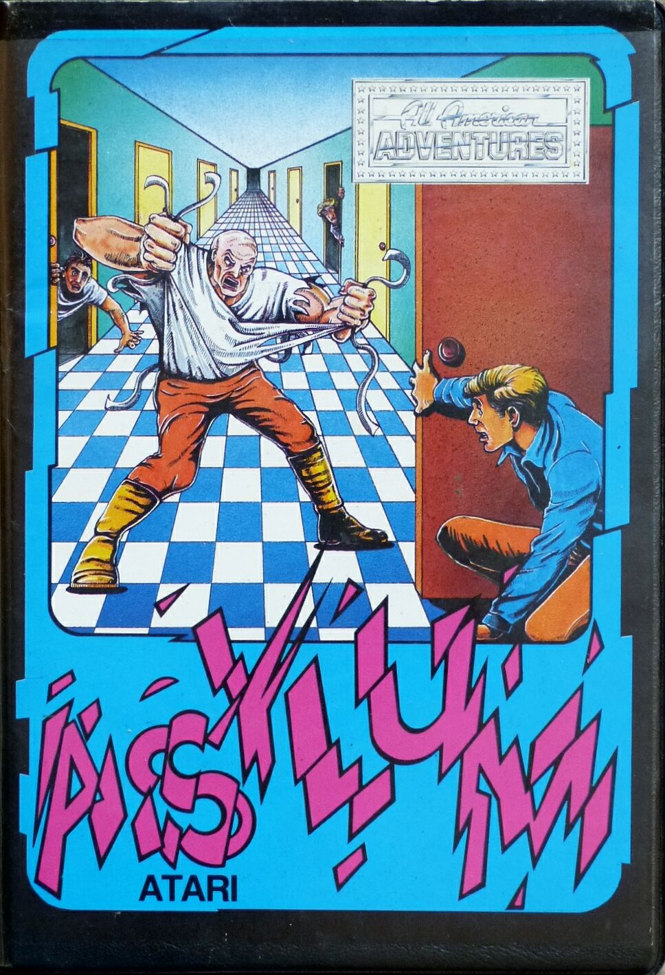 Asylum (U.S. Gold) (Atari 400/800) (Disk Version)