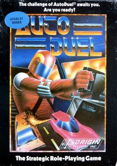 Autoduel (Microprose) (Atari ST) (UK Version)