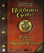 Baldur's Gate: Tales of the Sword Coast (Interplay) (IBM PC)