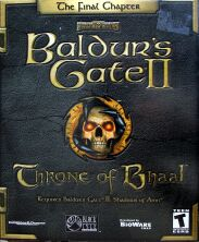 Baldur's Gate II: Throne of Bhaal (Interplay) (IBM PC)