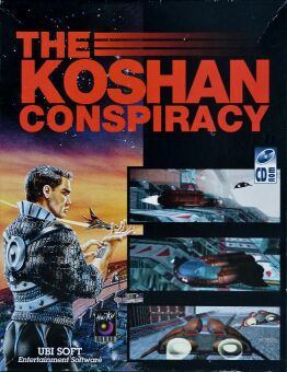 B.A.T. 2: The Koshan Conspiracy (Ubisoft) (IBM PC) (CD-ROM Version)