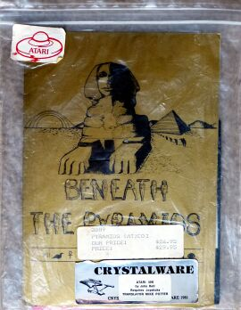 Beneath the Pyramids (Crystalware) (Atari 400/800) (missing manual?)