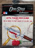 Bits, PIeces and Clues: African Adventure, Pirate Adventure, King Tut's Tomb (One-Step Software) (C64)