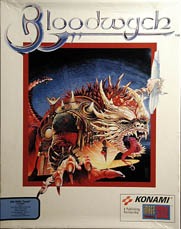 Bloodwych (Konami) (IBM PC) (Contains Tony Severa's Hintdisk & Gaming Aids)
