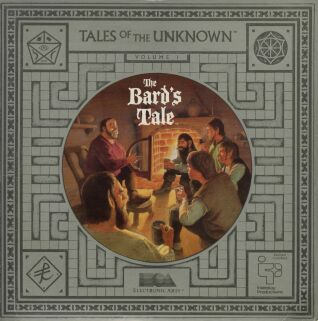 Bard's Tale I: Tales of the Unknown (C64) (Contains Clue Book, Clue Book (Alternate Cover), Tony Severa's Hintdisk & Gaming Aids)