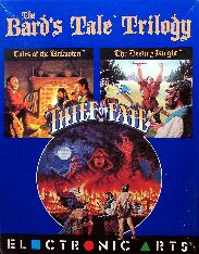 Bard's Tale Trilogy (IBM PC) (missing maps booklet?)