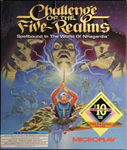 Challenge of the Five Realms (Microprose) (IBM PC)