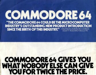 Commodore 64 Brochure