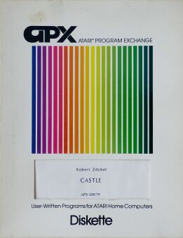 Castle (Atari Program Exchange) (Atari 400/800)
