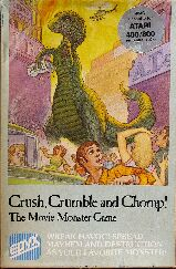 Crush, Crumble and Chomp! (Atari 400/800)