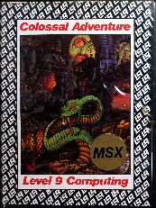 Colossal Adventure (Alternate Cover) (MSX)