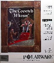 Coveted Mirror, The (Merit Software) (Apple II) (Contains Hint Sheet)