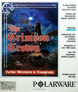 Crimson Crown, The (Merit Software) (IBM PC)