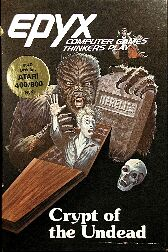 Crypt of the Undead (Atari 400/800)