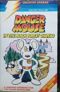 Danger Mouse in the Black Forest Chateau (Creative Sparks) (ZX Spectrum)