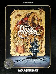 Dark Crystal (Sierraventure) (Atari 400/800) (Contains Witts' Notes)