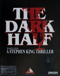 Dark Half, The (Intracorp) (IBM PC) (UK Version) (Contains Hint Book)