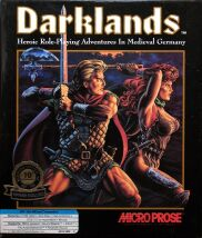 Darklands (Microprose) (IBM PC) (Contains Poster, Hint Book with Upgrade Disk)