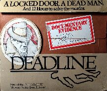 Deadline (Earlier Release) (Atari 400/800) (Contains Zork Users' Group Map)