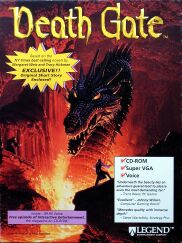 Death Gate (IBM PC) (Contains Hint Book)