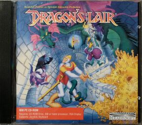 Dragon's Lair (ReadySoft) (IBM PC)