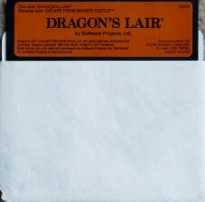Dragon's Lair (Disk only) (Software Projects) (C64)