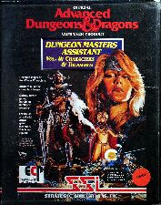 Dungeon Masters Assistant Volume II: Characters & Treasures (Clamshell) (Amiga)