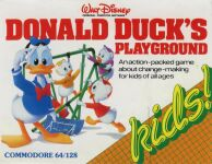 Donald Duck's Playground (U.S. Gold) (C64)