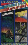 Double Play Adventure #11: Commando and Operation Turtle (Double Play Adventure) (ZX Spectrum)